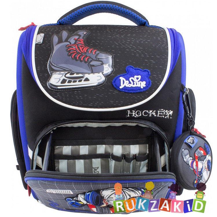 04a95bd03310 Купить школьный ранец de lune 3-134 хоккей в интернет магазине ...