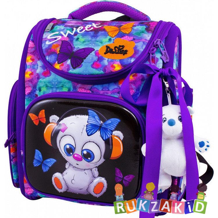 f8142a1ce638 Купить ранец школьный delune 3-167 медвежонок и бабочки в интернет ...