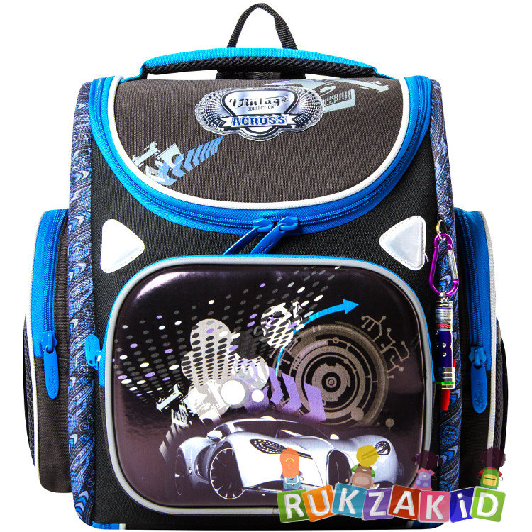 d172c01a4f3b Купить портфель трансформер школьный с машиной across 197-2 в ...