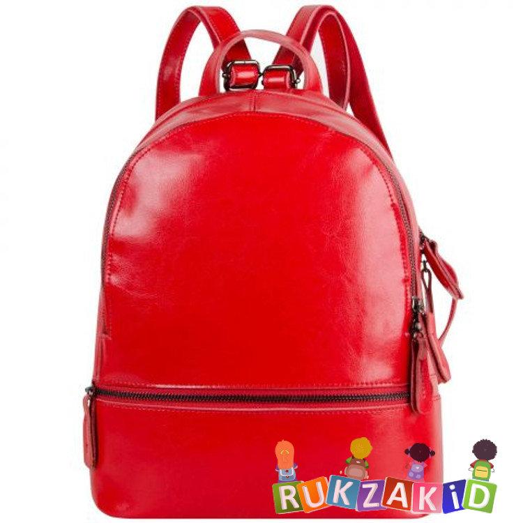 f1c254c037d0 Купить женский кожаный рюкзак connecticut красный в интернет ...