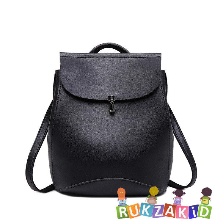 95005413b1a4 Купить рюкзак сумка трансформер женский city elegant черный в ...