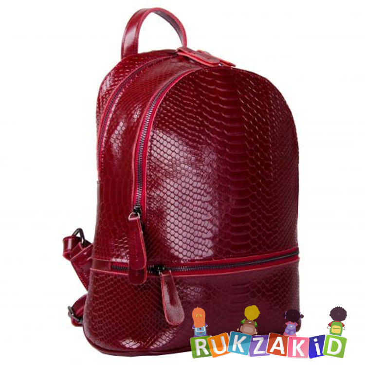 9d9e2edcb3ab Купить рюкзак женский кожаный connecticut рептилия сиреневый в ...