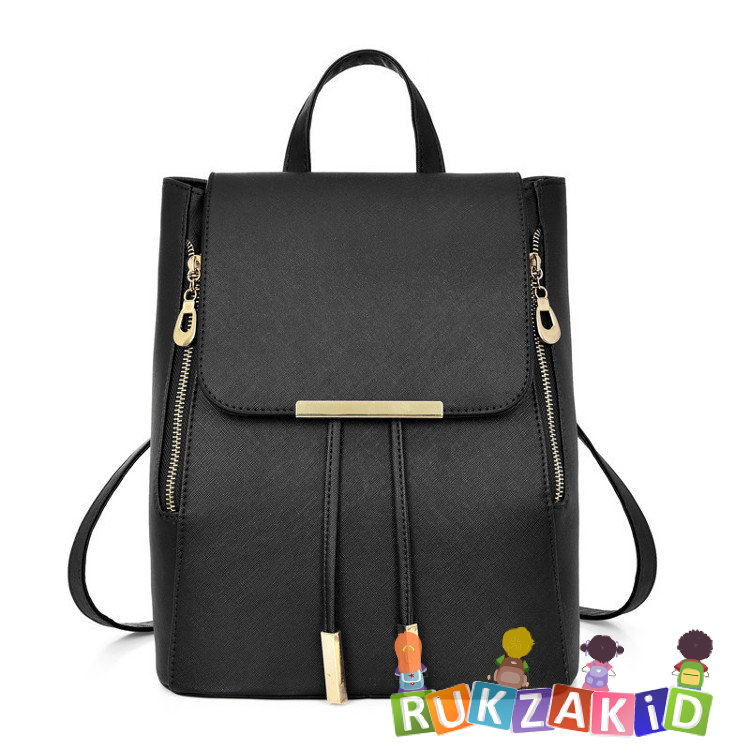 fa5f41bd2acf Купить рюкзак женский для города city style черный в интернет ...