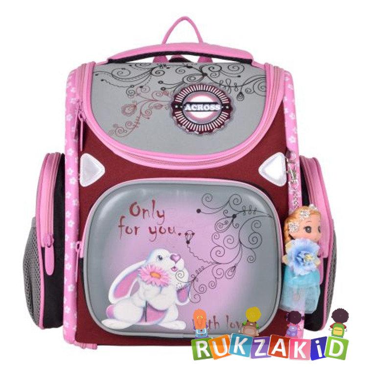252057b94ee1 Купить портфель трансформер школьный с зайчиком across 197-15 в ...