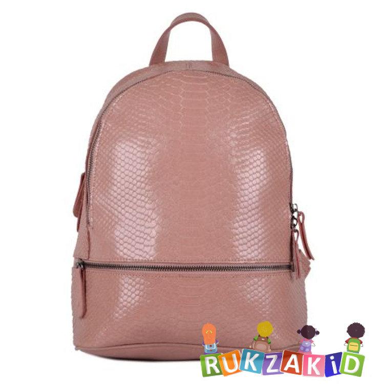 1b9b86dfb8ca Купить рюкзак женский кожаный connecticut рептилия пудра в интернет ...