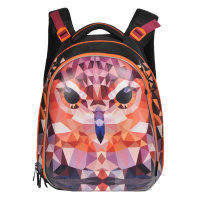 e420d783c423 Купить рюкзак школьный для начальных классов grizzly ra-779-5 сова в ...