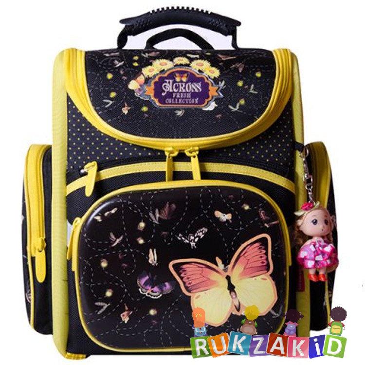 970d3a15cf57 Купить школьный рюкзак across acr15-196-19 бабочка в интернет ...