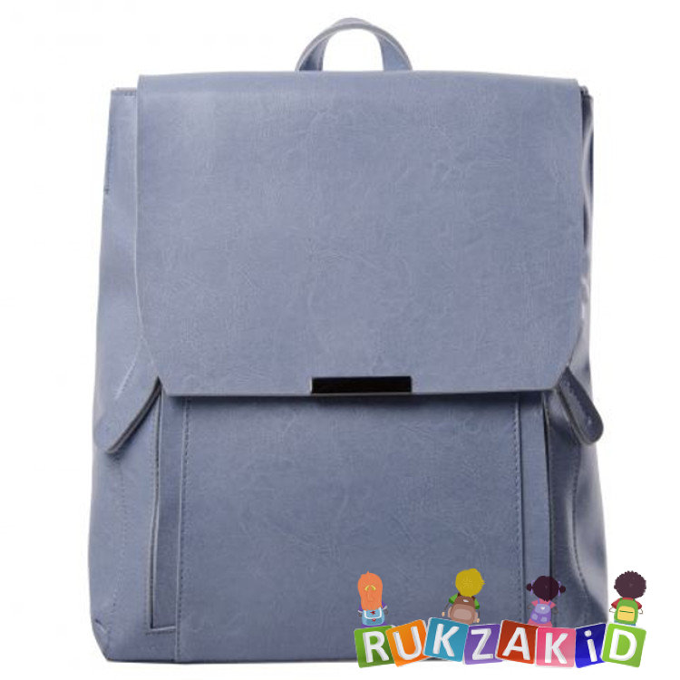 c66408c09824 Купить кожаный рюкзак женский florida голубой в интернет магазине ...