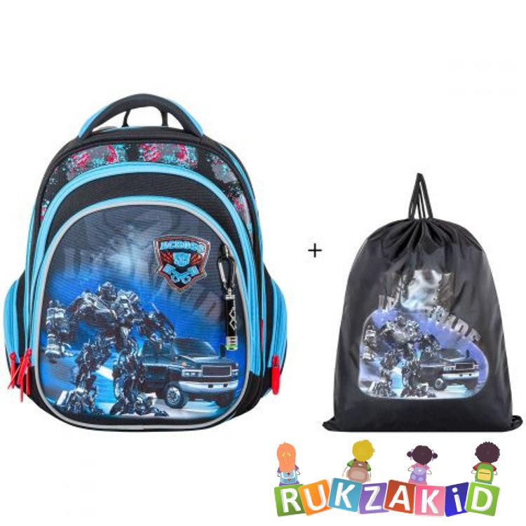 5169906023d9 Купить детский ортопедический рюкзак для школы across 203-4 робот в ...