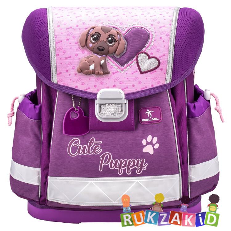 Купить ранец школьный belmil classy cute puppy в интернет магазине Rukzakid.ru