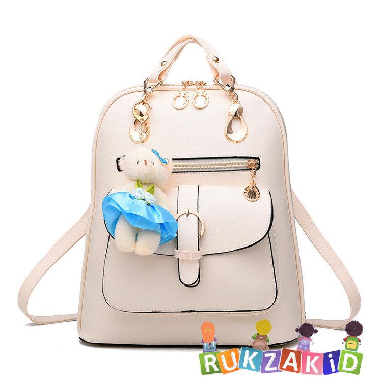 f1dec410ce7b Купить сумка рюкзак женская city beauty бежевый в интернет магазине ...