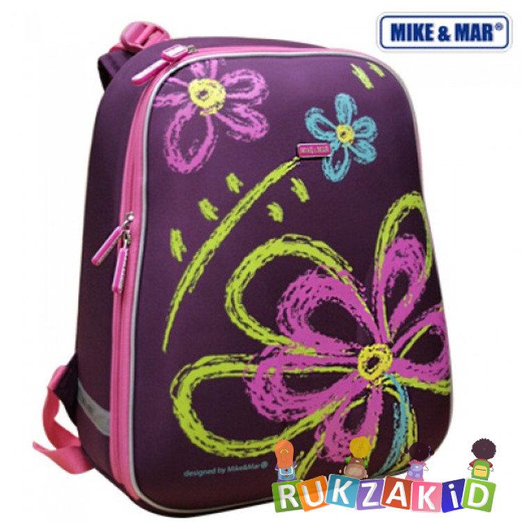 6e7591ef6678 Купить школьный рюкзак mike mar 1008-61 цветок фиолетовый в интернет ...