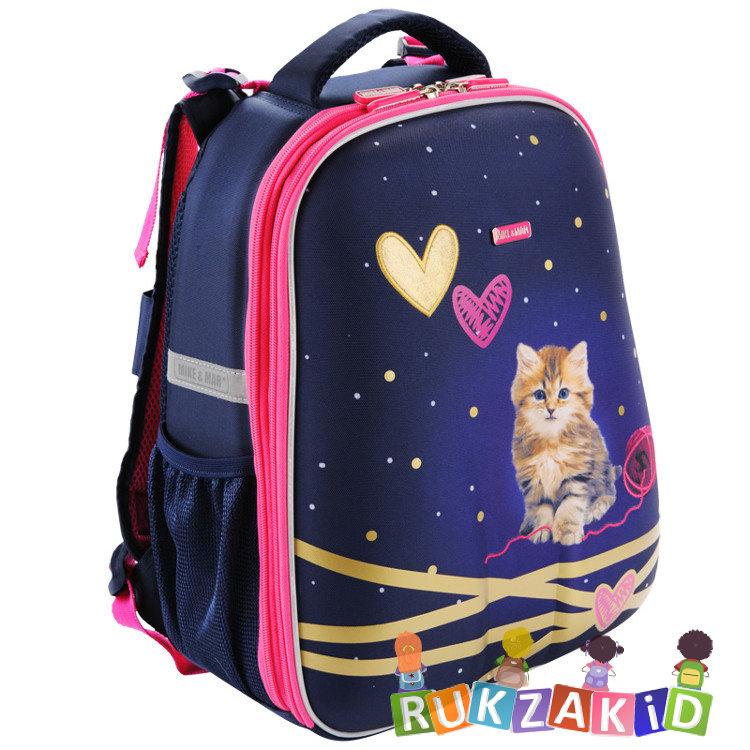 b93d3692ce38 Купить рюкзак школьный mike mar 1008-127 китти синий / малиновый ...