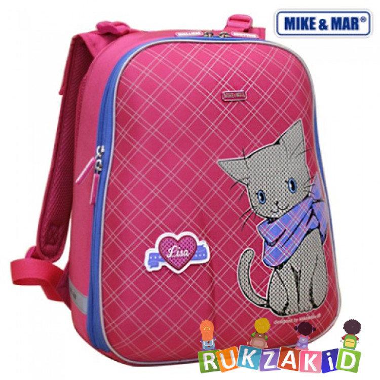 ee98c0f3a617 Купить школьный рюкзак mike mar 1008-70 котенок лиза малиновый в ...