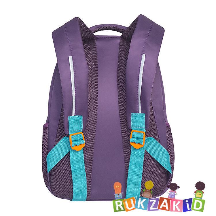 6b3a609db0c8 Купить рюкзак школьный с ежиком grizzly rg-762-1 фиолетовый в ...