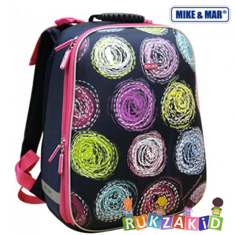 f88449f67c5c Купить школьный рюкзак mike mar 1008-64 круги сине-малиновый в ...