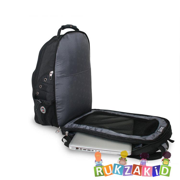 Рюкзак городской shell черный школьный рюкзак coocazoo
