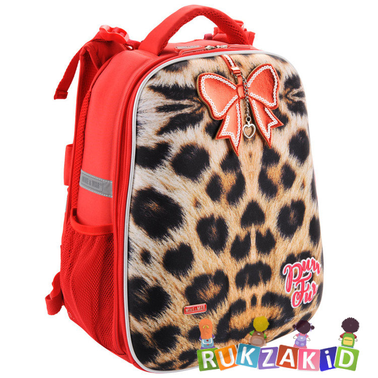4a064b05dc9e Купить рюкзак школьный mike mar 1008-135 леопард бежевый / красный ...