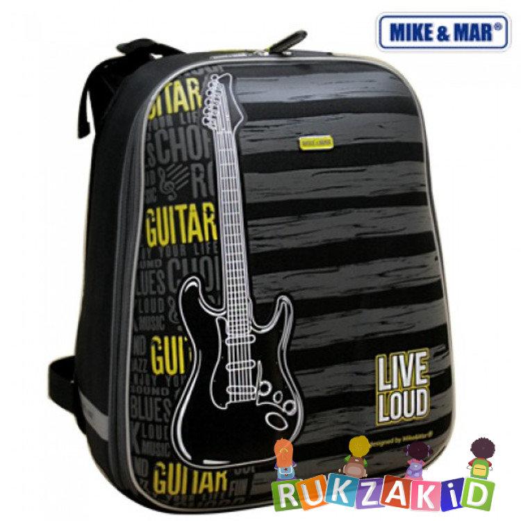 62003915135f Купить рюкзак для школы mike mar 1008-68 гитара серо-желтый в ...