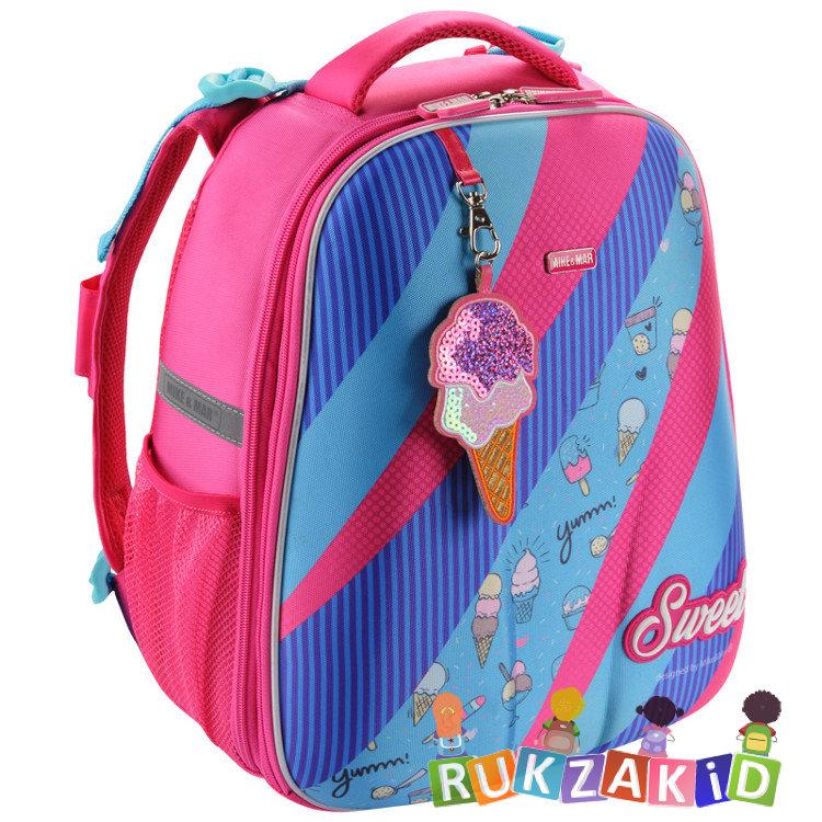 48df91b4bafe Купить рюкзак школьный mike mar 1008-144 sweet малиново - голубой в ...