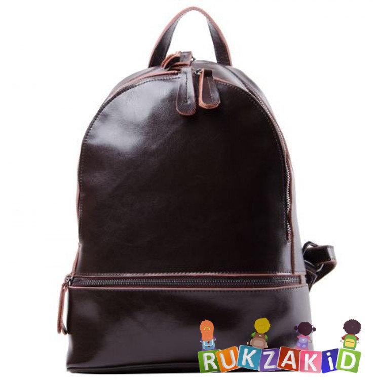ccb741801180 Купить женский кожаный рюкзак connecticut коричневый в интернет ...