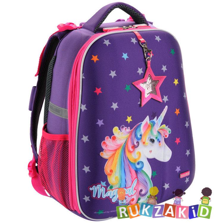 cd6b254eee45 Купить рюкзак школьный mike mar 1008-143 единорог фиолетовый в ...