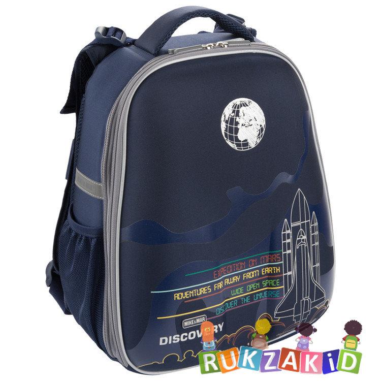6456867d4b33 Купить рюкзак школьный mike mar 1008-120 космос темно-синий в ...
