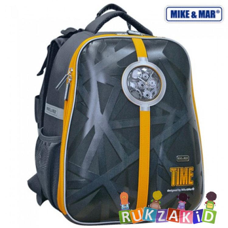 d9591e179e1d Купить рюкзак школьный mike mar 1008-82 время черный/ желтый в ...