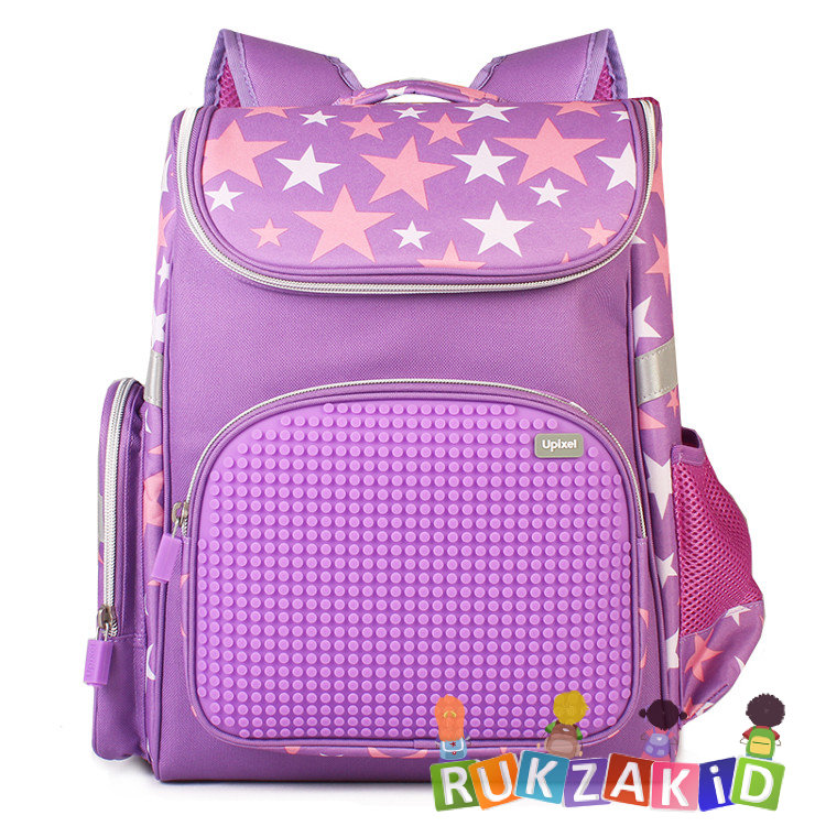fd8e26df2646 Купить ранец пиксельный школьный upixel game high wy-a039 фиолетовый ...