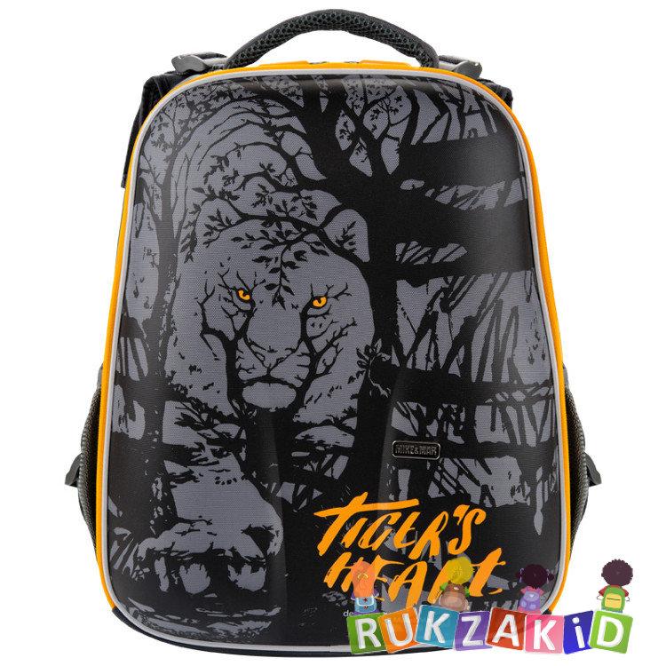 9209d77ccd05 Купить рюкзак школьный mike mar 1008-126 тигр серый / желтый кант в ...