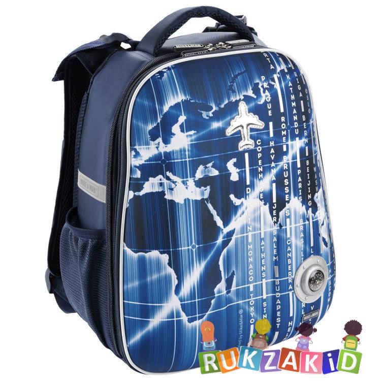 95b706c78793 Купить рюкзак школьный mike mar 1008-136 самолет синий в интернет ...