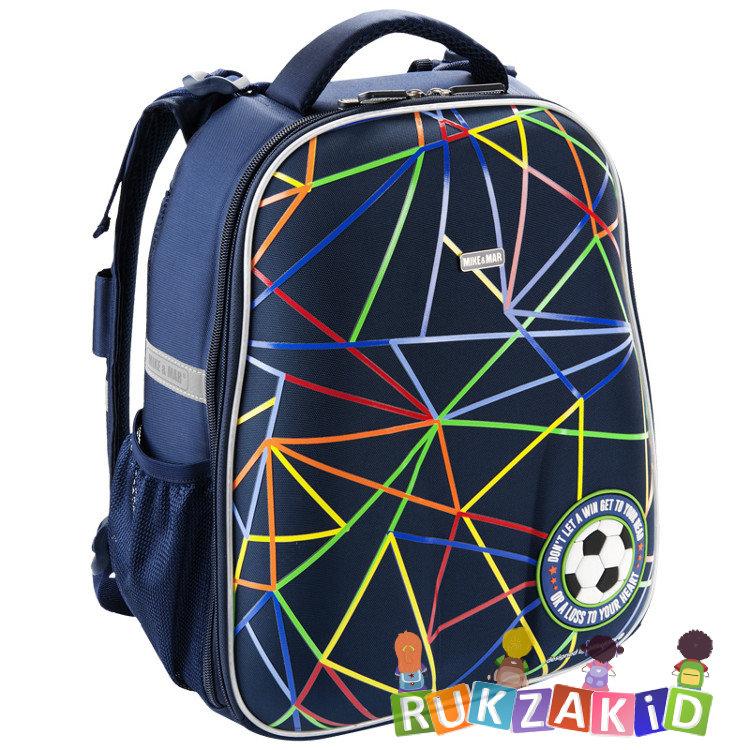 fffb66480b4c Купить рюкзак школьный mike mar 1008-130 футбол синий в интернет ...